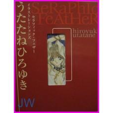SERAPHIC FEATHER Illustration UTATANE ArtBook JAPAN recent art book Adult Hentai
